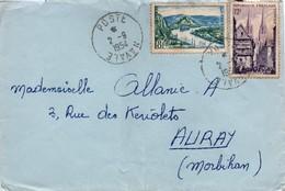 Poste Navale 1954 - Lettre - Marcophilie (Lettres)