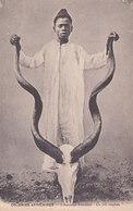 Afrique. Trophée D'antilope Kouddou. Non écrite - Postcards