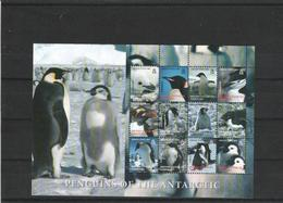 British Antarctic Territory-2006- Penguins Of The Antarctic - S/S - MNH(**) - British Antarctic Territory  (BAT)