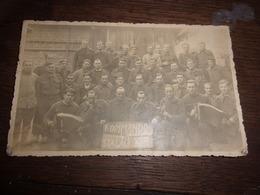 WWII  RARE CARTE PHOTO   KOMMANDO 498 STALAG XII B  ACCORDEONISTE - Guerre 1939-45