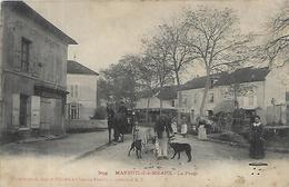 77, Seine Et Marne, MAREUIL LES MEAUX, La Plage, Scan Recto Verso - France