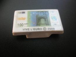 Fève VIVE L'EURO © 2000 - Autres