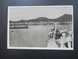 Echtfoto AK Las Palmas Hafen In Belgien Aufgegeben Und Nach Deutschland / Ostmark Wien Gesendet!! - La Palma