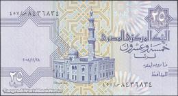 TWN - EGYPT 57f11 - 25 Piastres 28.12.2008 UNC - Egipto