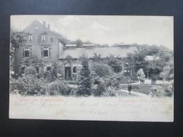 AK 1905 Gruss Vom Friedenshain Restauration Wilh. Gerhard Wuppertal Elberfeld - Hotels & Gaststätten