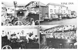 STOCKBRIDGE - THE VINE INN - MULTIVIEW -  ~ AN OLD POSTCARD #93442 - Sonstige