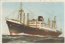 Straat Soenda, Ned. Kon Java-China Pakketvaart 1939, Captain Grant Virginia Cigarettes - Cigarette Cards