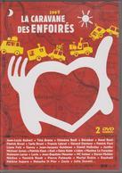 DVD LA CARAVANE DES ENFOIRES 2007 ( 2 DVD ) - Muziek DVD's