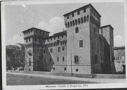 CASTELLO SAN GIORGIO - MANTOVA - EDIZ. GARAMI - VIAGGIATA FRANCOBOLLO ASPORTATO - Castelli