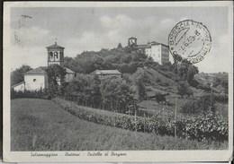 CASTELLO DI BARGONE - SALSOMAGGIORE - VIAGGIATA 1939 - Castelli