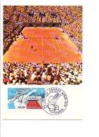 CARTE MAXIMUM 1978 TENNIS ROLAND GARROS - Maximum Cards