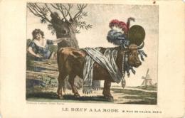 PARIS RESTAURANT LE BOEUF A LA MODE  8 RUE DE VALOIS - Cafés, Hôtels, Restaurants
