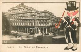 PARIS  LE THEATRE FRANCAIS  AVEC ILLUSTRATION - Arrondissement: 01