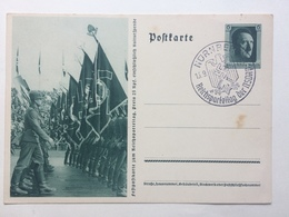 GERMANY - 1937 Postcard Mi P264 02 - Nurnberg Reichsparteitag Sonderstempel - Germania