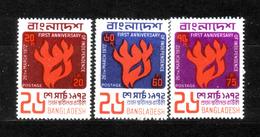191f * BANGLADESCH 1972 * FIRST ANNIVERSARY OF INDEPENDENCE **!! - Bangladesch