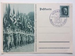 GERMANY - 1937 Postcard Mi P264 04 - Nurnberg Reichsparteitag Sonderstempel - Allemagne