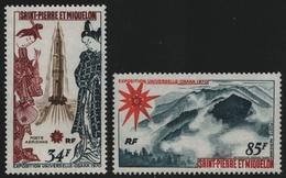 St. Pierre & Miquelon 1970 - Mi-Nr. 453-454 ** - MNH - EXPO `70 Osaka - St.Pierre & Miquelon