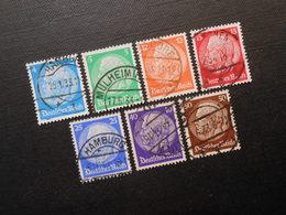 D.R.Mi 467- 473 Satz  - 1932 - Mi 32,00 € - Deutschland