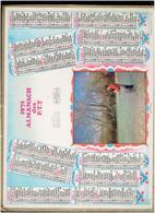 CALENDRIER 1971 PECHEUR ALMANACH DES P.T.T. - Calendriers
