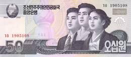 50 Wong Nordkorea 2002 UNC - Korea (Nord-)