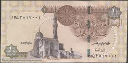 TWN - EGYPT 70a2 - 1 Pound 28.11.2017 UNC - Egitto