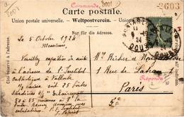 Suisse Vallorbe Bon De Commande De Sardines Pour L'institut Catholique  Carte Postée En 1924 Rare - VD Vaud