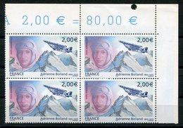 RC 12936 FRANCE PA N° 68 ADRIENNE BOLLAND BLOC DE 4 A LA FACIALE NEUF ** TB - 1960-.... Nuovi