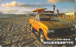 CAMION - TRUCK - AUTO  - VOITURE - AUTOMOBILE - CAR -- TELECARTE JAPON - Auto's