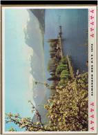 CALENDRIER 1972 LAC D ANNECY FERMETTE EN TOURAINE ALMANACH DES P.T.T. - Calendriers