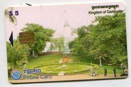 TK 00638 CAMBODIA - Chip Phnom Phen -Wat Phnom - Cambodia