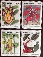 Malaysia 1993 Wild Flowers MNH - Végétaux