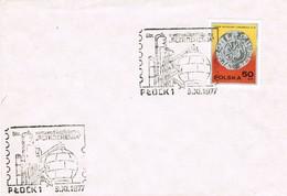 33104. Carta PLOCK (Polska) Polonia 1977. Petroquimica. Quimica - Cartas