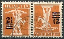 Schweiz Suisse 1921: Kehrdrucke Tête-bêche Zu+Mi K13 Mit O GROSSHÖCHSTETTEN 9.IX.21 (Zu CHF 9.50) - Tete Beche