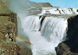 1 AK Island Iceland * Der Gullfoss (der Goldene Wasserfall) - Gehört Zum Goldenen Ring - Golden Circle * - Island