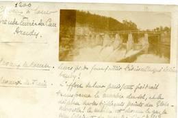ARUDY Grande écurie Du Cau - Chevaux à  Louer  -carte Photo  1901 - Arudy