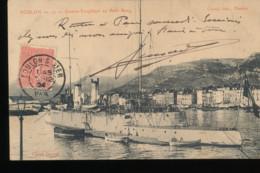 83 -- Toulon -- Contre - Torpilleur Au Petit Rang - Toulon