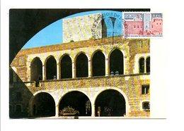 CARTE MAXIMUM 1979 PALAIS DES DUCS DE MAJORQUE PERPIGNAN - Maximum Cards