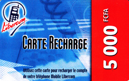 Prépayée Bénin Libercom 5000 FCFA - Benin
