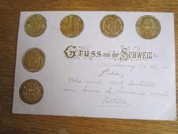 GRUSS AUS DER SCHEIZ  1900 - Suisse