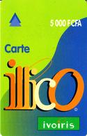 Prépayée Côte D'Ivoire Illico Ivoiris 5000 FCFA - Ivoorkust
