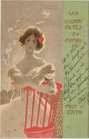 Luxembourg Carte Postale Les Cigarettes Du Monde Rodange 20-6-1902 Pour Wasserbillig 2 Scans - Errors & Oddities