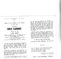 E.CLAERHOUT °MEULEBEKE 1879 +TIELT 1970 (C.DOBBELS) - Devotion Images