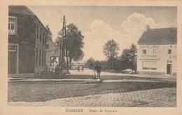 Eghezée  RQoute De Louvain Animée Cycliste Chapellerie Moderne Circulé En 1927 - Namur