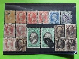 USA / ETATS UNIS SERVICE 1873 , Lot De 16 Timbres Neufs Et Obl BTB FORTE COTE HIGH VALUE - Dienstpost