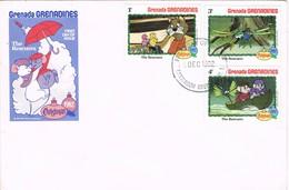 33106. Carta F.D.C. GRENADA - Granadines 1982. The Rescuers. Film DISNEY - Grenada (1974-...)