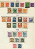 13243 NICARAGUA Collection Vendue Par Page N°60/70, 71/80, 81/9 */ °/ (*)  1894 - 96  B/TB - Nicaragua