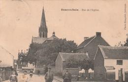 Beauvechain  Rue De L'eglise Animée Circulé En 1924 - Beauvechain