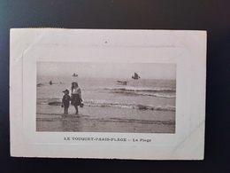 CPA.(62) LE TOUQUET.PARIS PLAGE.  La Plage.  Animation.    (G.bis 165) - Le Touquet