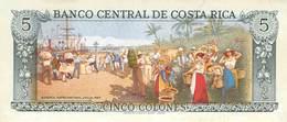 5 Colones Costa Rica UNC 1992 - Costa Rica
