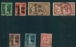 7 Stamps Used And Unused Without Gum - Used Stamps